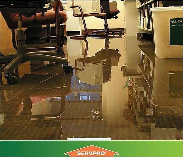 Standing Water in Commercial Office